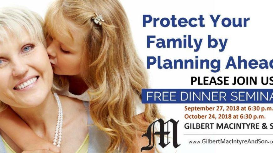 Guelph, Ontario – Gilbert MacIntyre & Son Funeral Home – COMPLIMENTARY WORKSHOP